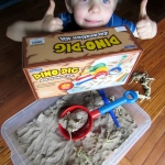 Dino-Dig Excavation Kit from Lakeshore Learning + Giveaway