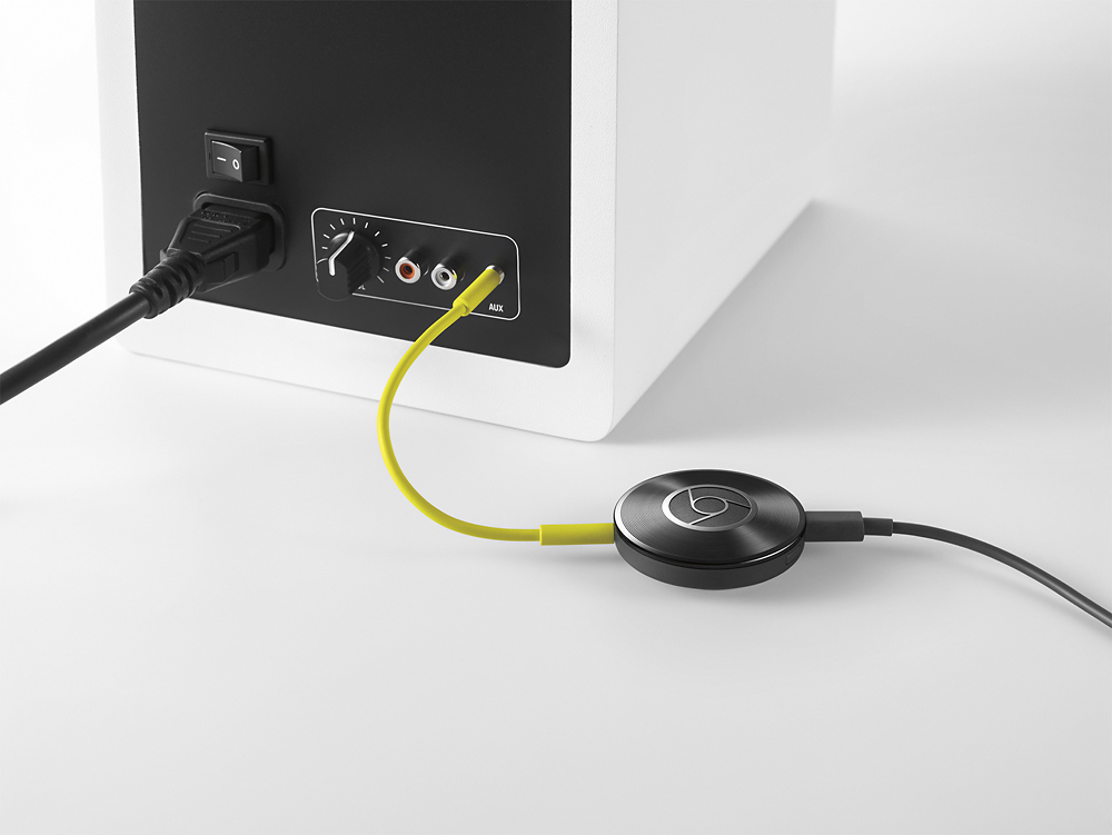 how to play music with chromecast