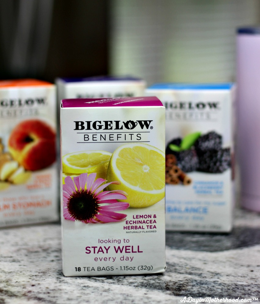 Bigelow Teas are a perfect blend for my DIY Personalized Tea Tumbler