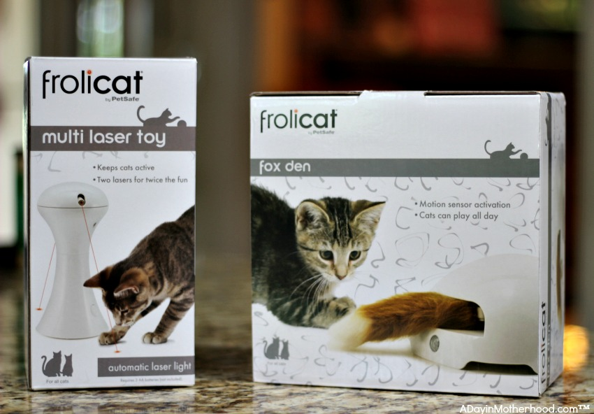 Automatic Cat Toys from Petsafe are fun!