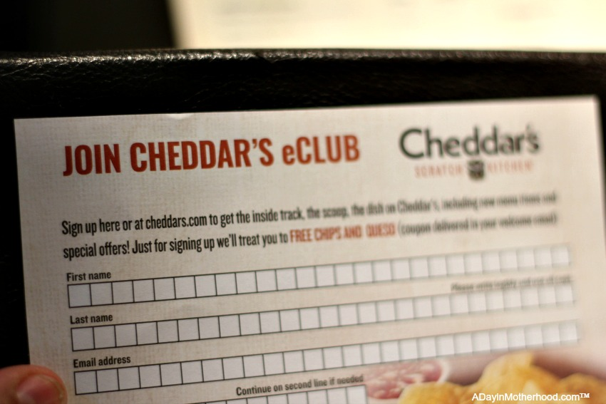 Get a free chips and queso when you sign up for email and share who inspires you?