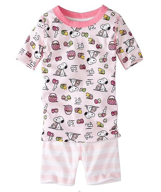 These PJ's are part of the TODAY ONLY: 15% Hanna Andersson Discount Code on Peanuts Merchandise!