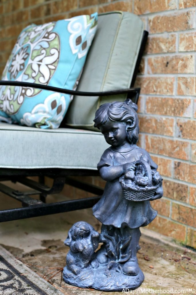 Add some personality to your patio furniture