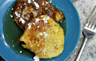 This Leftover Biscuit French Toast Recipe will melt in your mouth!