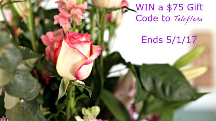Celebrate Mom with a Floral Bouquet + WIN a $75 code to Teleflora