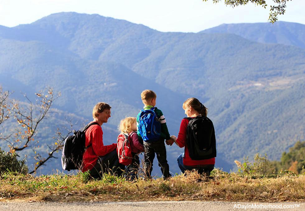 Day Hiking with Your Kids this Summer: The Benefits & the Logistics are easier than you think