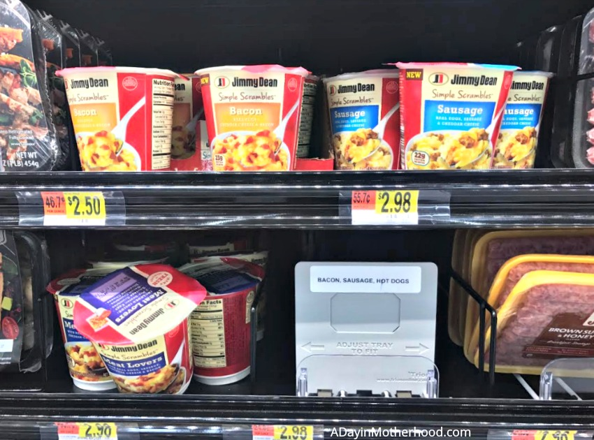 Protein Up Breakfast with Delicious Jimmy Dean Simple Scrambles at Walmart