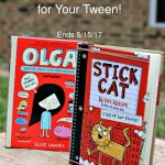 WIN Two Books for Tweens: Olga and the Smelly Thing from Nowhere and Stick Cat: A Tail of Two Kitties!