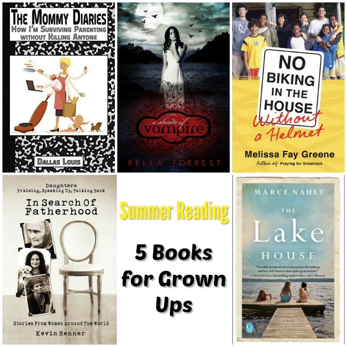 Get your summer reading on with these books for adults