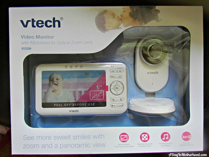 expandable digital video baby monitor new from vtech. Black Bedroom Furniture Sets. Home Design Ideas