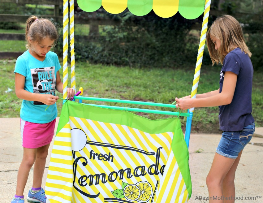 Let Your Kids Build Creatively this Summer with Antsy Pants Lemonade Stands