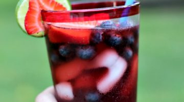 Celebrate the 4th of July with a Red, White and BOOM Drink and a Delicious Meal