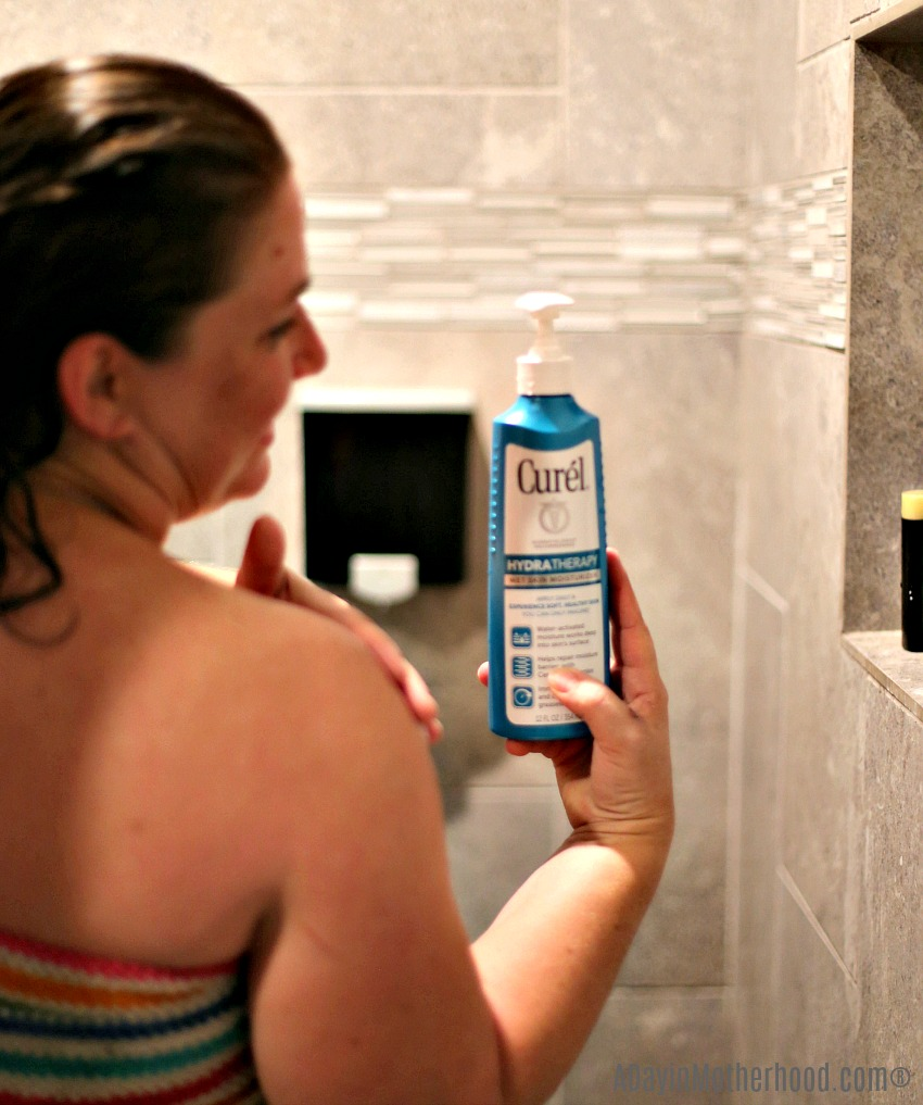 A Dry Skin Solution that Really Works for My Active Lifestyle right in the shower