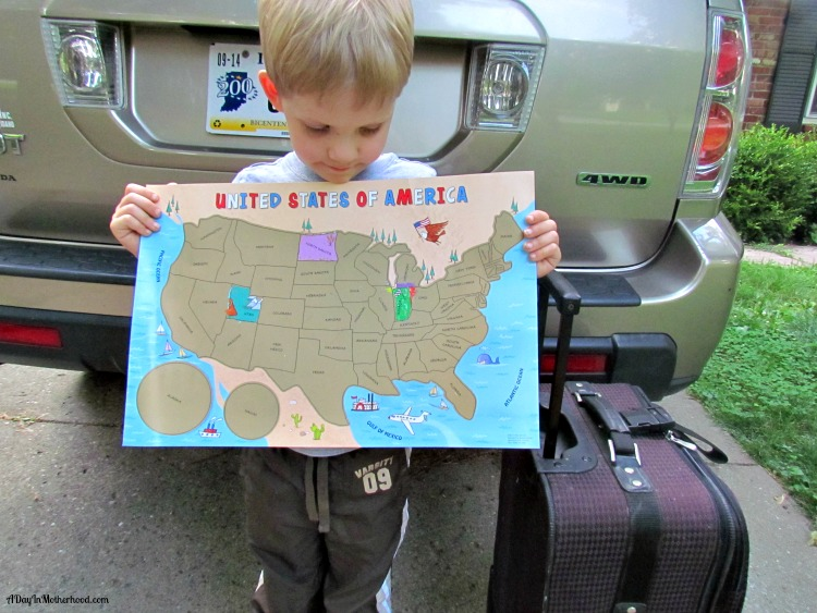 My U.S.A. Road Trip from I See Me. AD