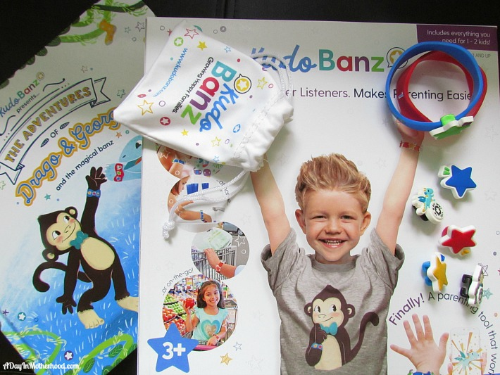 Kudo Banz is a sticker chart for your child's wrist. AD