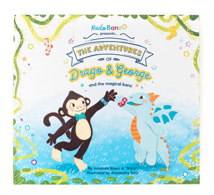Kudo Banz presents The Adventures of Drago and George. AD