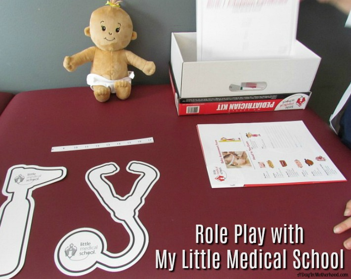 Encourage your kids to role play with My Little Medical School. AD