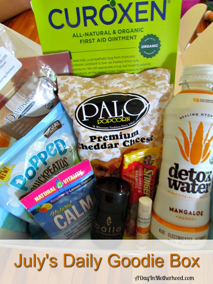 Enjoy free samples from The Daily Goodie Box. ad