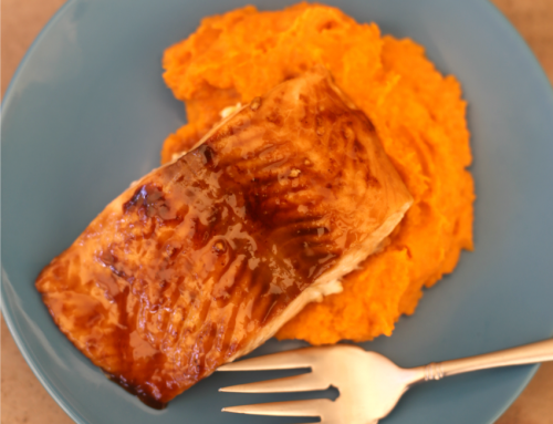 Glazed Brown Sugar Salmon & Mashed Sweet Potatoes & Carrots Recipe + WIN Free Bird's Eye Coupons