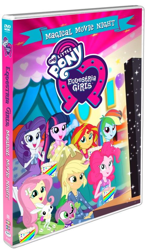My Little Pony Equestria Girls Magical Movie Night. ad