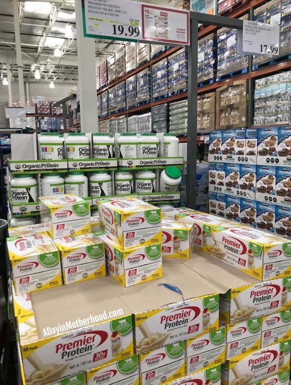 Power up your Workout with a Premier Protein and $5 off at Costco and save