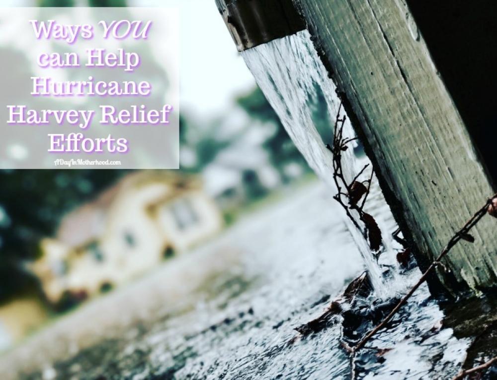 Ways You Can Help Hurricane Harvey Relief Efforts