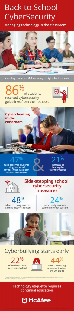 Back to School Online Safety Should be on Your School Supplies List online graphic