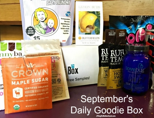 September Goodies from Daily Goodie Box