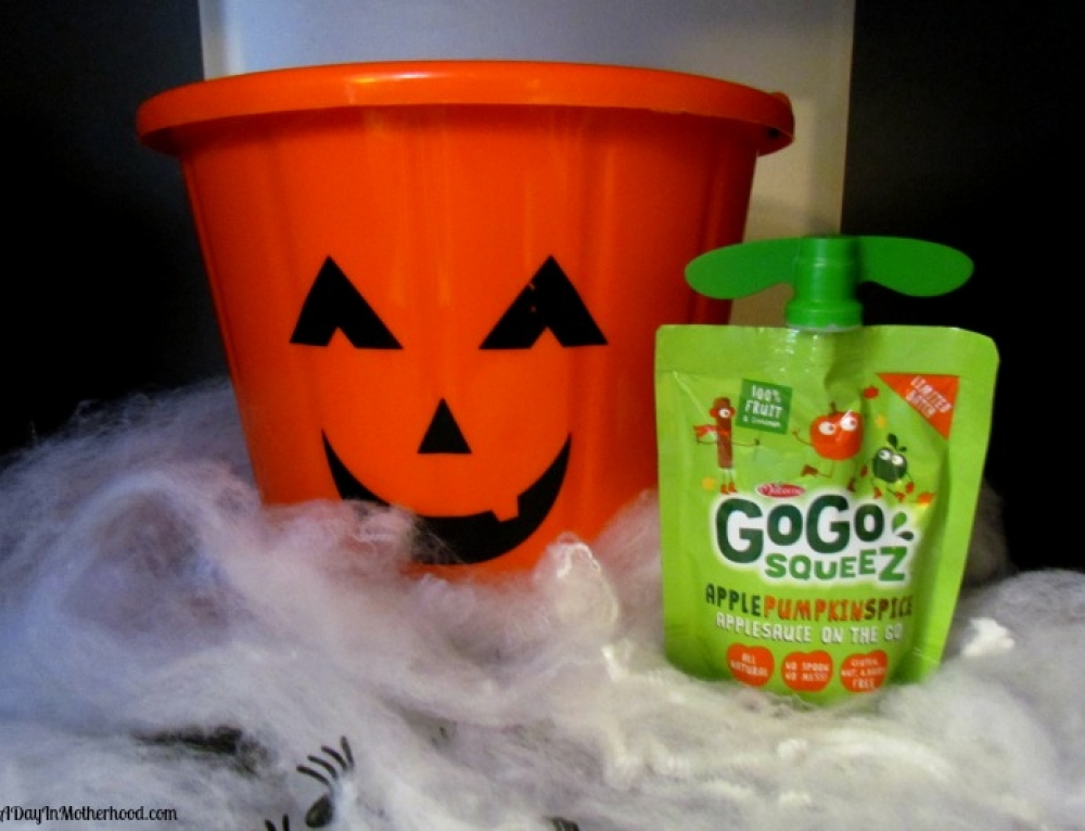 Apple Pumpkin Spice GoGo SqueeZ for a Happy Halloween