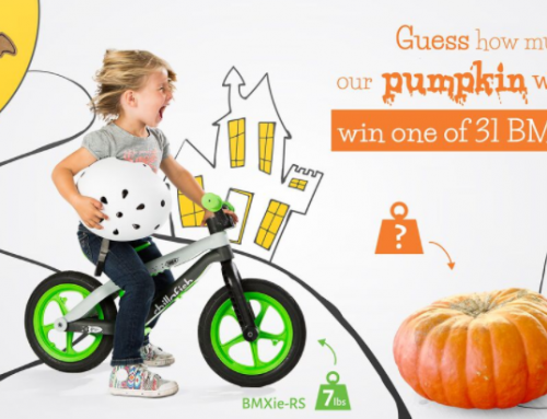 WIN 1 of 31 Chillafish Balance Bikes in their Halloween Giveaway