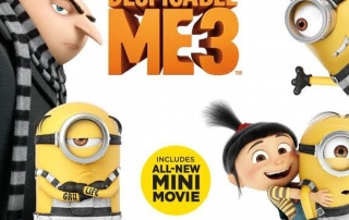 Despicable Me 3 Special Edition is COMING on DVD and you have to have it