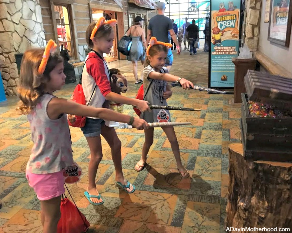 Great Wolf Lodge: Your Halloween Destination with wands