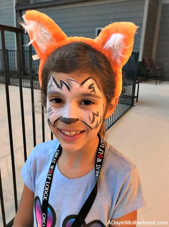 Great Wolf Lodge: Your Halloween Destination with face paint