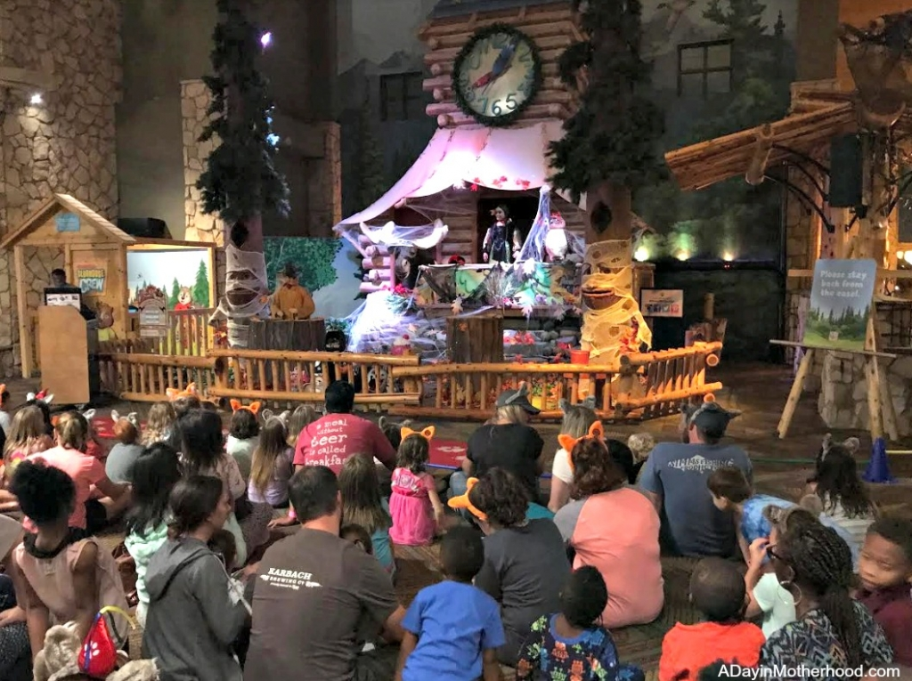 Great Wolf Lodge: Your Halloween Destination with story time