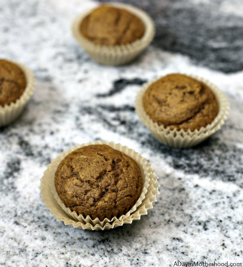 Easy Pumpkin Muffins Recipe with Gold Medal