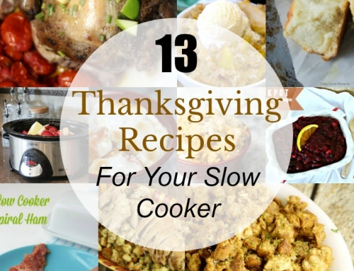 Slow Cook Your Way to Thanksgiving with these 13 Slow Cooker Recipes