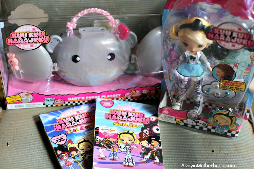 WIN a Prize Pack of Toys/DVDS for Gwen Stefani's Kuu Kuu Harajuku