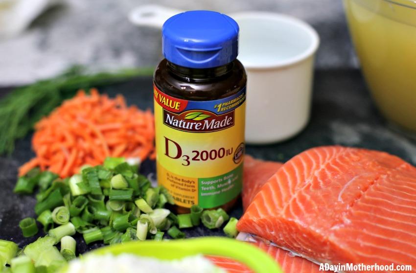 Easy Salmon Chowder Recipe (Cream & Milk Free) get your vitamin d