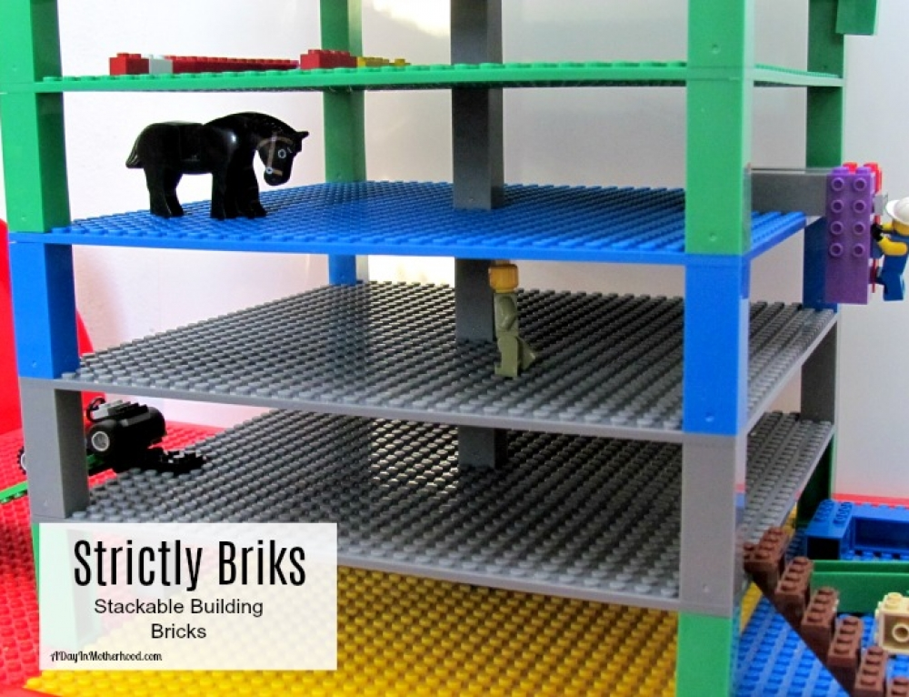 Strictly Briks: Stackable Building Bricks + Giveaway