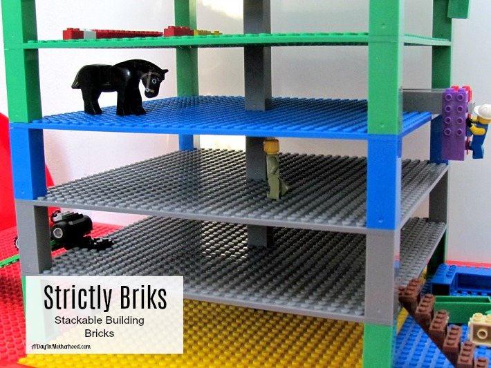 Build vertically with Strictly Bricks stackable base plates! ad