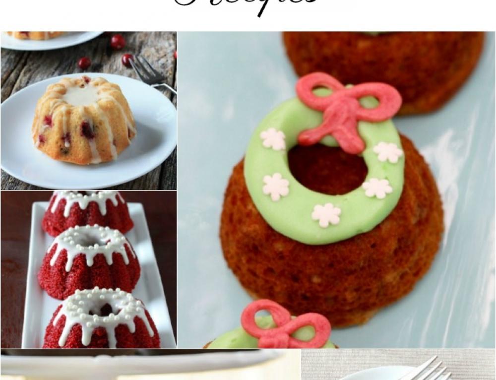 5 Awesome Holiday Mini Bundt Cakes