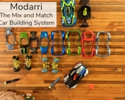 Modarri cars can be mixed up and matched in countless ways!