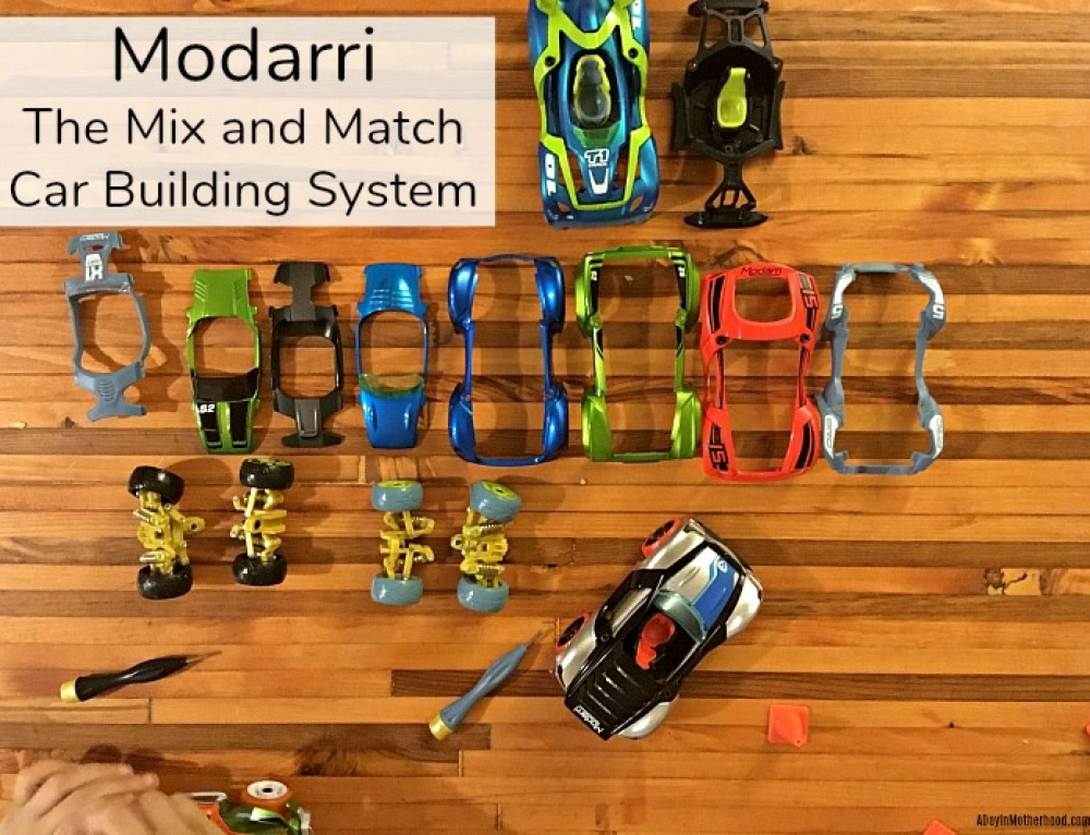 Modarri Cars The Mix and Match Car Building System