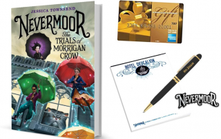 WIN the NEVERMOOR Prize Pack: Perfect for Middle Schoolers for the giveaway