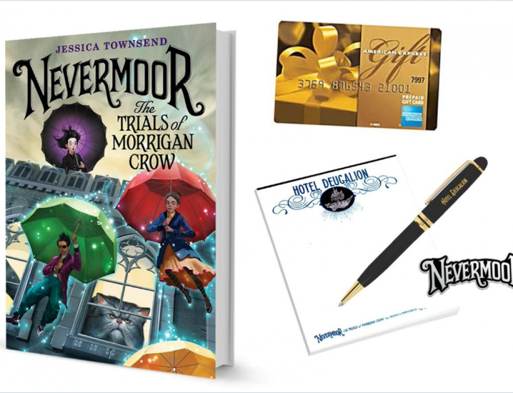 WIN the NEVERMOOR Prize Pack: Perfect for Middle Schoolers