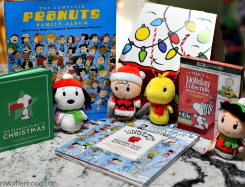 WIN a HUGE Peanuts Holiday Prize Pack (DVD's, Books and more!)