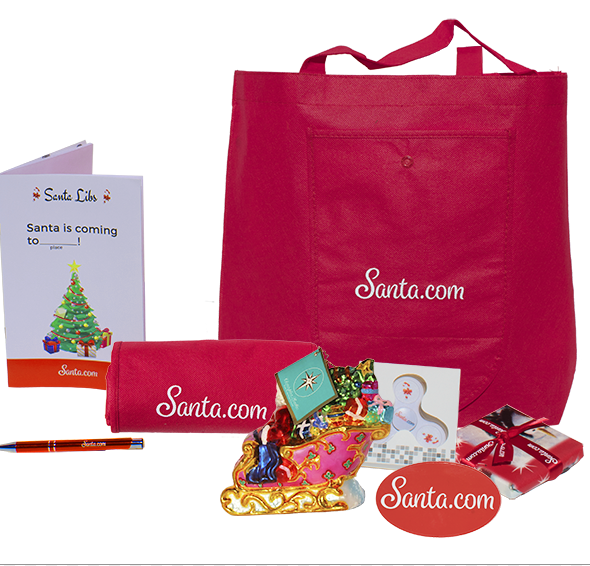 Keep Your Kids off the Naughty List with Texts from Santa.com with a prize pack