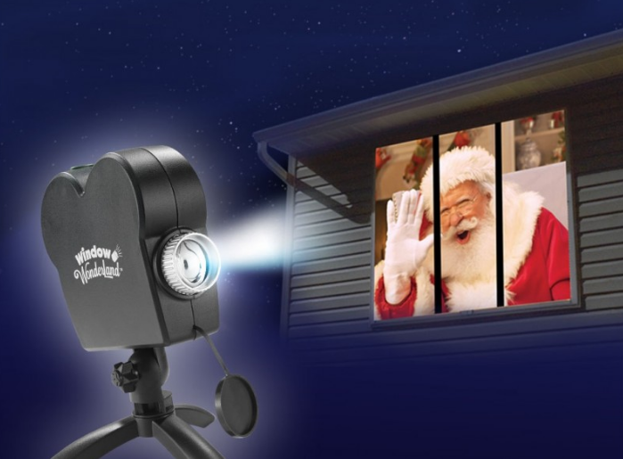 Hack the Holidays with Star Shower Window Wonderland and watch the holidays shine
