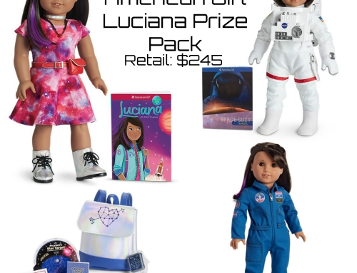 WIN an American Girl Luciana Doll (Girl of the Year) + Space Suit