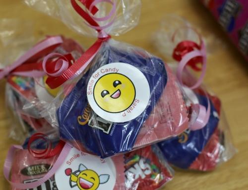 Easy Classroom Valentine Bags